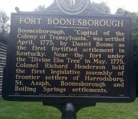<h2>Marker 1520 (Back)</h2><p>Fort Boonesborough<br>Marker 1520 (Back)<br>County: Madison<br>Location: At Fort Boonesborough, KY 388<br>Photographed by Sharla Gross<br></p>