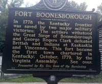 <h2>Marker 1520 (Front)</h2><p>Fort Boonesborough<br>Marker 1520 (Front)<br>County: Madison<br>Location: At Fort Boonesborough, KY 388<br>Photographed by Sharla Gross<br></p>