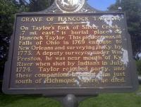 <h2>Marker 1685</h2><p>Grave of Hancock Taylor<br>Marker 1685<br>County: Madison<br>Location: Location: Approximate 1 Mile West of Richmond, KY 52<br>Photographed by Sharla Gross<br></p>