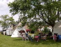 <h2> Tipi at Mantle Rock