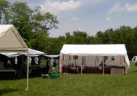 <h2>Vendor's Tents at Mantle Rock 1