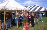 <h2>Vendor's Tent 2 </h2><p>Vendor's tent at the Jacobson Park Pow Wow.<br></p>