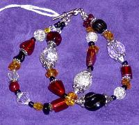 <h2>Glass Bead Bracelet 3