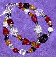 <h2>Glass Bead Bracelet 2