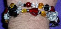 <h2>Glass Bead Bracelet 1
