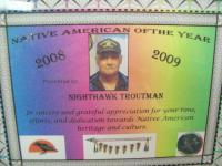 <h2>Certificate Presented To Nighthawk