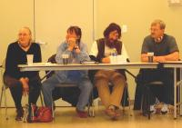 <h2>Socializing At The March Meeting 1