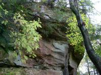 <h2>Overhanging Rock