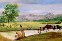<h2>Plains River Scene </h2><p>March 1, 2009Photography by Awahili<br></p>