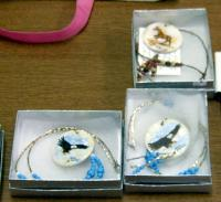 <h2>Painted Necklaces 4 </h2><p>April 5, 2009Photography by Wahiya<br></p>