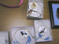 <h2>Painted Necklaces 7 </h2><p>April 5, 2009Photography by Awahili<br></p>