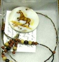 <h2>Painted Necklace 5 </h2><p>April 5, 2009Photography by Awahili<br></p>