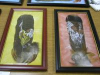 <h2>Painted Feathers  </h2><p>April 5, 2009Photography by Awahili<br></p>