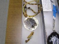 <h2>Painted Necklaces 12 </h2><p>April 5, 2009Photography by Awahili<br></p>