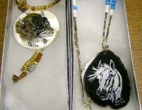 <h2>Painted Necklaces 15 </h2><p>April 5, 2009Photography by Awahili<br></p>