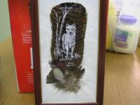 <h2>Painted Feather 23 </h2><p>April 5, 2009Photography by Awahili<br></p>