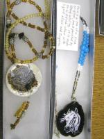 <h2>Painted Necklaces 18 </h2><p>April 5, 2009Photography by Awahili<br></p>