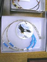 <h2>Painted Necklace 9 </h2><p>April 5, 2009Photography by Awahili<br></p>