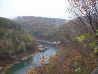 <h2>Near The Bend in The Big South Fork  River.