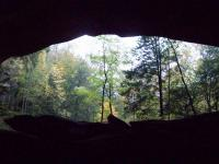 <h2>Looking Out The Mouth of The Cave 1