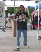 <h2>Bud EagleWolf 4 </h2><p>May 9, 2009Photography by WahiyaBud Eagle WolfEastern Cherokee Flute Player<br></p>