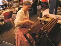 <h2>Using A weaver's Loom 1 </h2><p>Founder's Day 2009McConnell SpringsLexington, KYMay 16, 2009Photography by Awahili<br></p>
