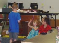 <h2>Kids Listening To The Storyteller