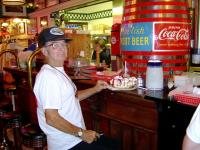 <h2>47. Frank Roaring Thunder Cook And His Banana Split </h2><p>Photography by WahiyaJuly 5, 2009Kenova, WV<br></p>