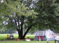<h2>76. View of The Camp Site </h2><p>Photography by WahiyaJuly 5, 2009Kenova, WV<br></p>