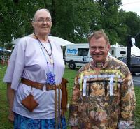 <h2>Buffalo Woman & Buffalo Heart