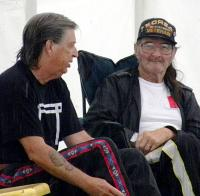 <h2>Jerry 2 Feather Thornton & Frank Roaring Thunder Cook </h2><p>September 26, 2009Photography by Wahiya<br></p>