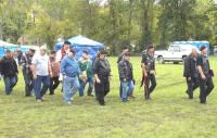 <h2>Marching In For The Roll Call</h2><p>October 10, 2009 Photography by Wahiya</p>