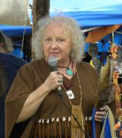 <h2>Joyce Ann White Wolf Fisher </h2><p>October 10, 2009 Photography by Wahiya</p>