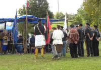 <h2>Honor Guard At Drum Area</h2><p>October 10, 2009Photography by Wahiya<br></p>