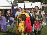<h2>The Dunns & Intertribal Dancers </h2><p>October 10, 2009 Photography by Wahiya</p>