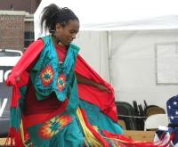 <h2>Intertribal Dancer </h2><p>October 10, 2009 Photography by Wahiya</p>