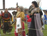 <h2>Intertribal Dancers </h2><p>October 10, 2009 Photography by Wahiya</p>
