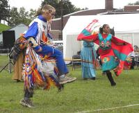 <h2>John Little Hawk Dunn & Others Dancing </h2><p>October 10, 2009 Photography by Wahiya</p>