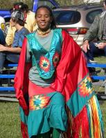 <h2>Intertribal Dancer </h2><p>October 11, 2009 Photography by Wahiya</p>