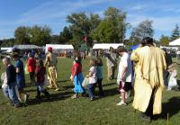 <h2>Lining Up For The Candy Dance</h2><p>October 11, 2009 Photography by Wahiya</p>