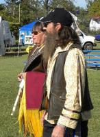 <h2>Elaine Wolf Moon Rising & Bob Wind Walker Johnson </h2><p>October 11, 2009 Photography by Wahiya</p>