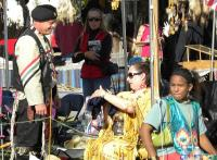 <h2>Eagle Heart & Suyeta' Geya Dunn With Another Dancer</h2><p>October 11, 2009Photography by Wahiya<br></p>