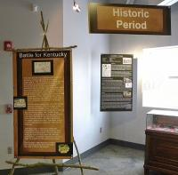 <h2>Historical Information Display 2 </h2><p>Part of a Kentucky Native American history exhibit that belongs to the Lexington History Museum.<br></p>
