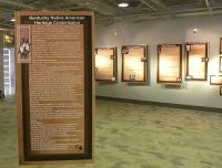 <h2>Historical Information Display 14 </h2><p>Part of a Kentucky Native American history exhibit that belongs to the Lexington History Museum.<br></p>