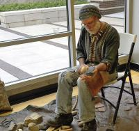 <h2>Knapping Demonstration 2 </h2><p>Johnny Faulkner<br></p>