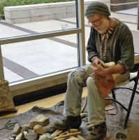<h2>Knapping Demonstration 3 </h2><p>Johnny Faulkner<br></p>